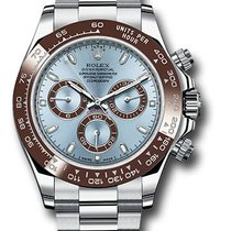 Rolex platinum Daytona 116506 Ice Blue dial