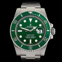 Ρολεξ (Rolex) Submariner Hulk Stainless Steel Gents 116610LV