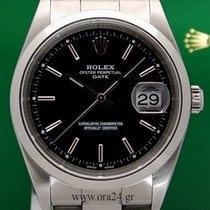 Rolex Oyster Perpetual 15200 Date 35mm Black Dial 2007...