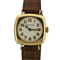 Patek Philippe Vintage Cushion Shaped 18K Yellow Gold from 1920