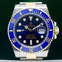Rolex 116613LB Submariner Ceramic Blue Dial 18K / SS (26202)