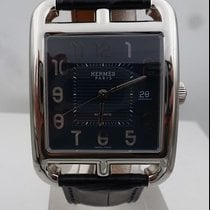 Hermès modern CAPECOD new ref w 036590ww00 nos blue dial NEVER...