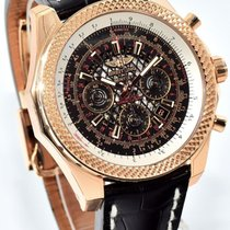 Breitling for Bentley B06 18k Rose Gold - Royal Ebony Dial...
