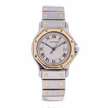 Cartier Santos de Cartier Ocatgon Quartz Watch 187902 (Pre-Owned)