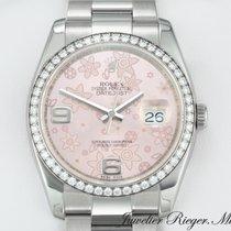 Rolex Datejust 116244 Stahl Weissgold 750 Diamanten Date Just