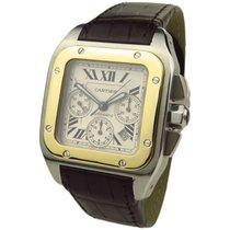 Cartier Santos 100 Steel & Gold W2020004