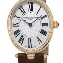 Frederique Constant Classics Art Deco Oval 18k RG Womens Watch...