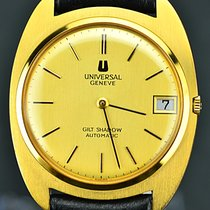 Universal Genève Gilt Shadow Automatic Gold Ultra-Thin Microtor