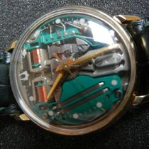 Bulova ACCUTRON SPACE VIEW 18 KT GOLD