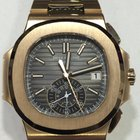 Patek Philippe Nautilus CHRONOGRAPH Full Rose Gold Grey Dial...