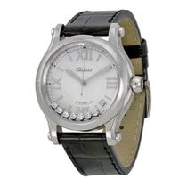 Chopard Happy Sport Medium Automatic Silver Dial 278559-3001...