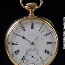 百达翡丽  (Patek Philippe) Pocket Watch 18k Rose Chronometro Gondolo