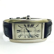 Cartier Tank Americaine Automatic 18K White Gold