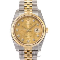 Rolex Datejust Two Tone Gold colored/18k gold Ø36mm - 116233