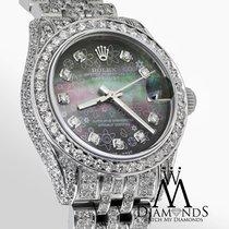롤렉스 (Rolex) Diamond Ladies Rolex Datejust 26mm Stainless Steel...