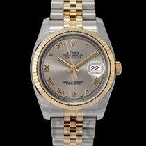 ロレックス (Rolex) Datejust Silver Dial Yellow Gold/Steel Jubilee...
