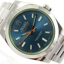 Rolex OYSTER PERPETUAL MILGAUSS BLUE DIAL