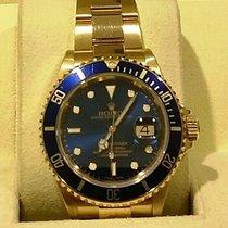 Rolex Submariner Date - Yellow Gold - 18kt - FULL SET 2005