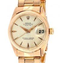Rolex Date 6627 Pink Gold, 31mm