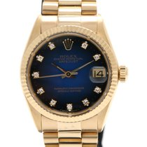 Rolex Datejust 18K Yellow Gold & Diamonds