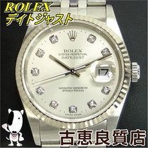 ロレックス (Rolex) 【中古】【美品】ROLEX デイトジャスト メンズ 10P 腕時計 自動巻き 16234G...