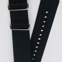 Glycine Textillederband schwarz 22mm TB9