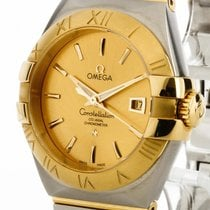 Omega Constellation Co-Axial Automatik Stahl /Gelbgold Ref....