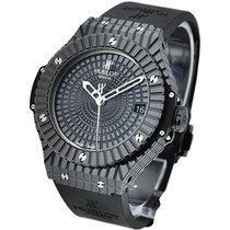 Hublot 346.CX.1800.RX Big Bang 41mm Black Caviar in Black...