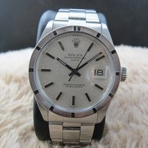 Rolex OYSTER DATE 1501 with Original Silver Linen Dial with...