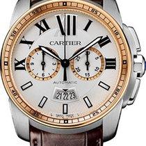 Cartier Calibre de Cartier Chronograph Stainless Steel &...