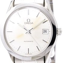 Omega Polished Omega Classic Stainless Steel Automatic Mens...