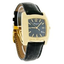 Salvatore Ferragamo Vara Mens Leather Swiss Watch F51LBQ4009-S009
