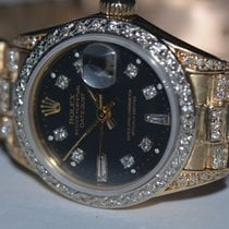 Rolex Datejust President 18K Solid Yellow Gold Diamonds