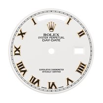 Rolex Day-Date 36mm White/ Gold Roman Numerals Original...