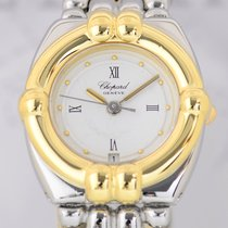 ショパール (Chopard) Gstaad Ladies Luxus Uhr Stahl/ Gold Top...
