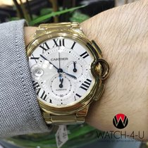 Cartier Ballon Bleu Chronograph 3106 18k Yellow-Gold Case/Brac...