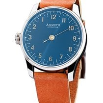 Azimuth Round-1 Back In Time Blue Blast Watch Backwards Motion...