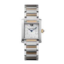 Cartier Tank Francaise Quartz Ladies Watch Ref WE110005