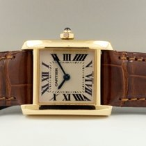 Cartier Tank Francaise Lady 18 krt Yellow Gold  (26 x 20 mm)