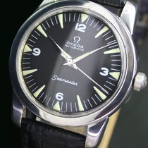 Omega Seamaster Half Rotor Radium Dial Automatic Steel Mens Watch