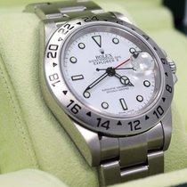 롤렉스 (Rolex) Explorer II 16570 Gmt Oyster Date White Dial...