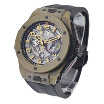 Hublot 401.MX.0123.VR Big Bang Ferrari 45mm in Rose Gold - On...
