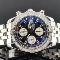 Breitling Evolution 44mm A13356 Chrono S/Steel Factory Diamond...