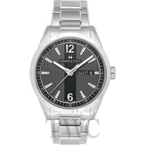Hamilton Broadway Day Date Quartz Black Steel 40mm - H43311135