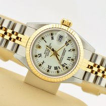 Rolex Datejust Two Tone 18k Stainless White Dial Jubilee Band...