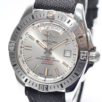 Breitling Galactic 44 Stahl 2016 Papiere Box Ref.A45320B9