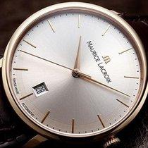 Maurice Lacroix Les Classiques Tradition White Dial Brown...