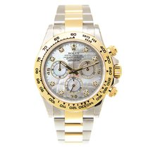 Rolex Cosmograph Daytona Gold And Steel White Automatic...