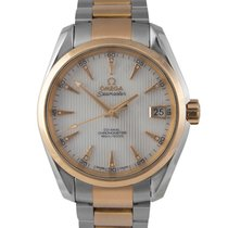 Omega Seamaster Aquaterra, Steel/Rose Gold, MOP/Diamond Dial