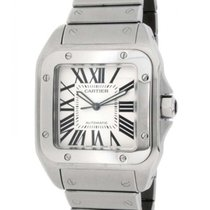 Cartier Santos 100 W200737g In Steel, 38mm